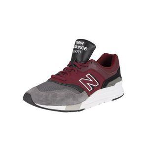 BASKET New Balance  Baskets en daim 997H, rouge, Homme