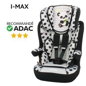 SIÈGE AUTO NANIA Siège Auto IMAX Panda Groupe 1-2-3 Gris