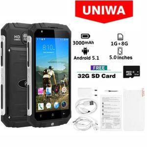 SMARTPHONE Noir- UNIWA V9 + 3G Smartphone MT6580M Quad Core 5