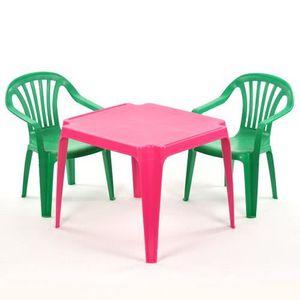Table Et Chaise De Jardin Enfant