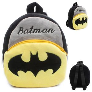 CARTABLE Batman Cartoon enfants jouets en peluche sac à dos