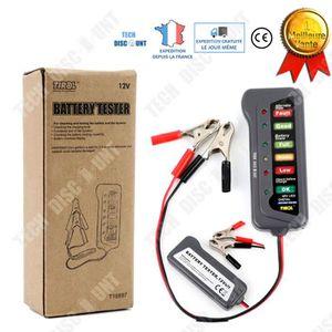 TESTEUR DE BATTERIE TD® Testeur batterie voitures allume cigare LED 12