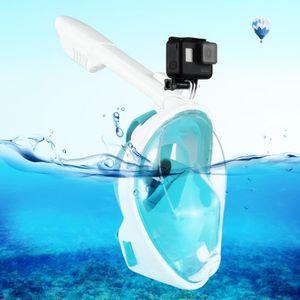 MASQUE DE PLONGÉE Masque de plongée GoPro vert pour HERO6 / 5/5 Sess