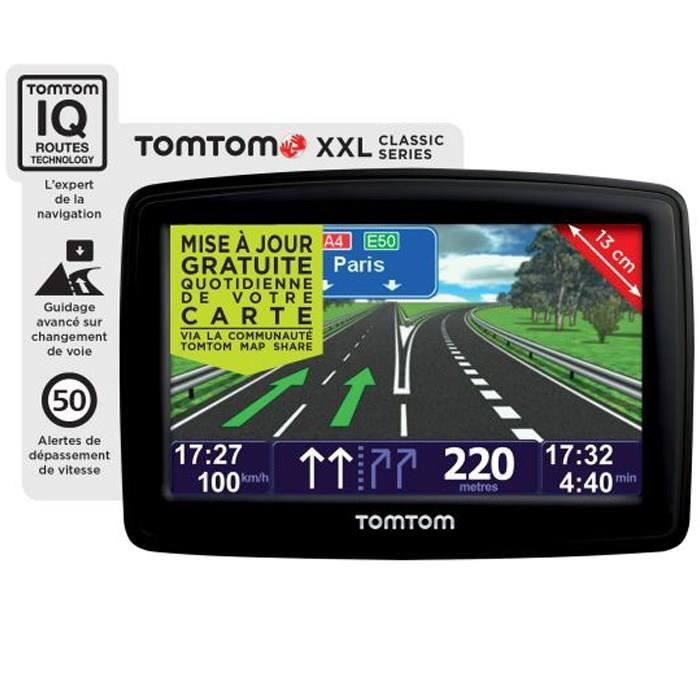 gps tomtom xxl classic europe 23 pays achat vente gps auto tomtom xxl classic europe nf. Black Bedroom Furniture Sets. Home Design Ideas