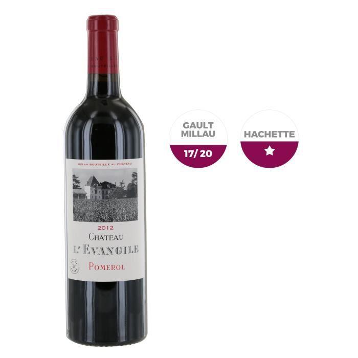 Château L'Evangile 2012 Pomerol - Vin rouge de Bordeaux