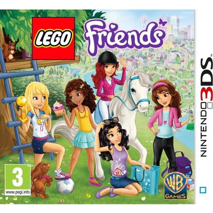 lego friends jeu 3ds achat vente jeu 3ds lego friends 3ds cdiscount. Black Bedroom Furniture Sets. Home Design Ideas
