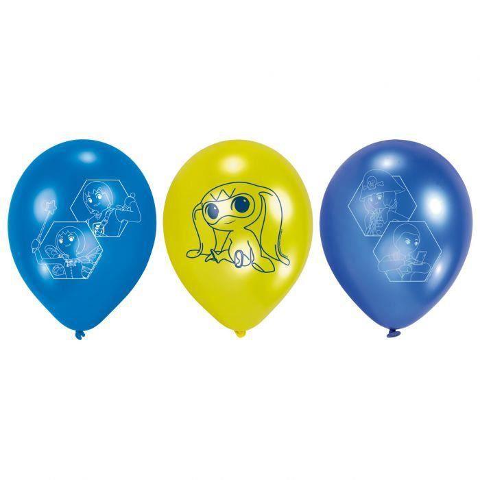lot de 6 ballons playmobil
