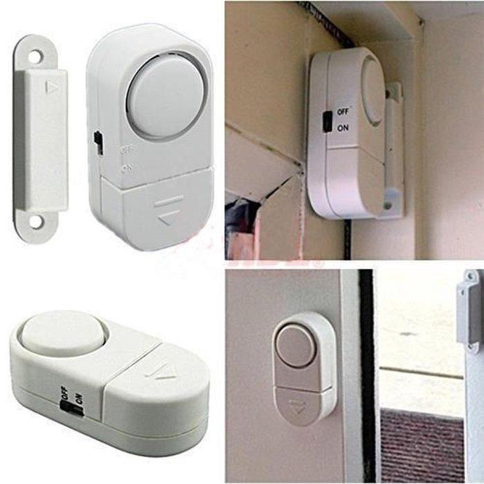 Porte Fenêtre Système De Avertissement Alarme Magnétique