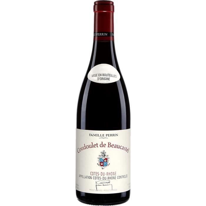 Famille Perrin - Coudoulet de Beaucastel - Côtes du Rhône - Rouge - 2018 - 75cl