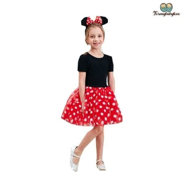 Autre Accessoire Deguisement Vendu Seul - Déguisement fille minnie (Du 9 mois au 6 ans)