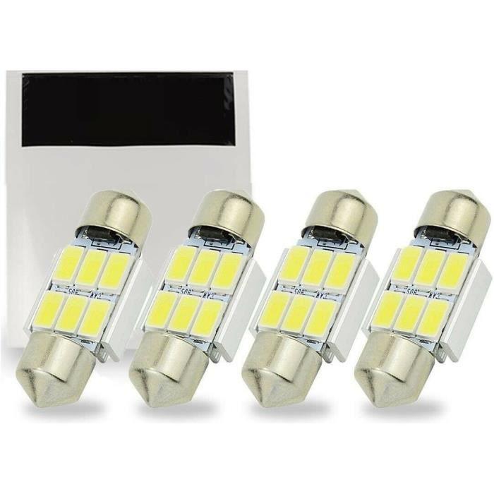 Ampoule C5W 31mm LED 6500K Canbus pour Habitacle coffre