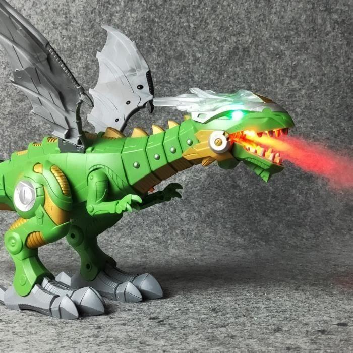SMRT Électrique interactive Dinosaures jouets: parler et marche Feu Dragon et Dinosaures Pour Jeux, Enfants Jouets De Noël Cadeau