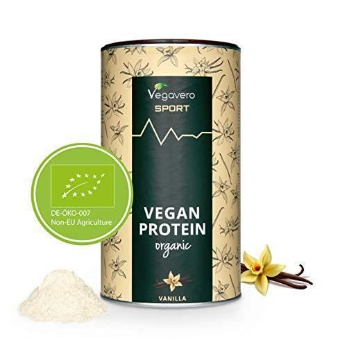 Protéines VEGAN BIO Vegavero® - 80% de Protéines BIO de Pois et de Riz - Sans Édulcorants/Soja - Alternative à la Whey Protein -