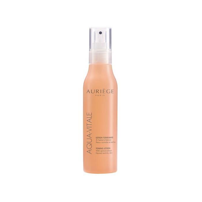 AURIEGE AQUA-VITALE Lotion tonifiante 200 ml à l'huile d'abricot peaux normales et sèches