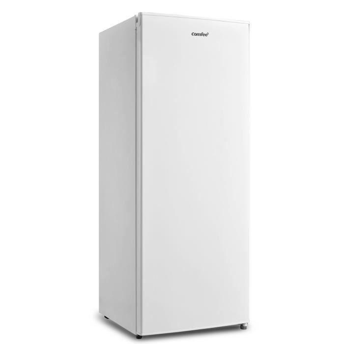 Comfee RCU160WH1(E) Congélateur armoire 160L-L55cm x H142cm ,42 dB-Blanc[Classe énergétique F]