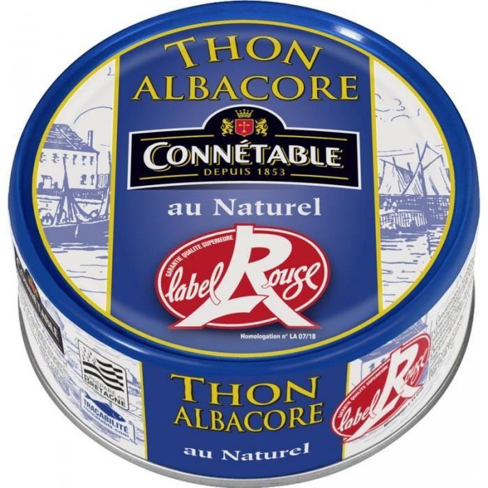 Connetable Thon au naturel Label Rouge