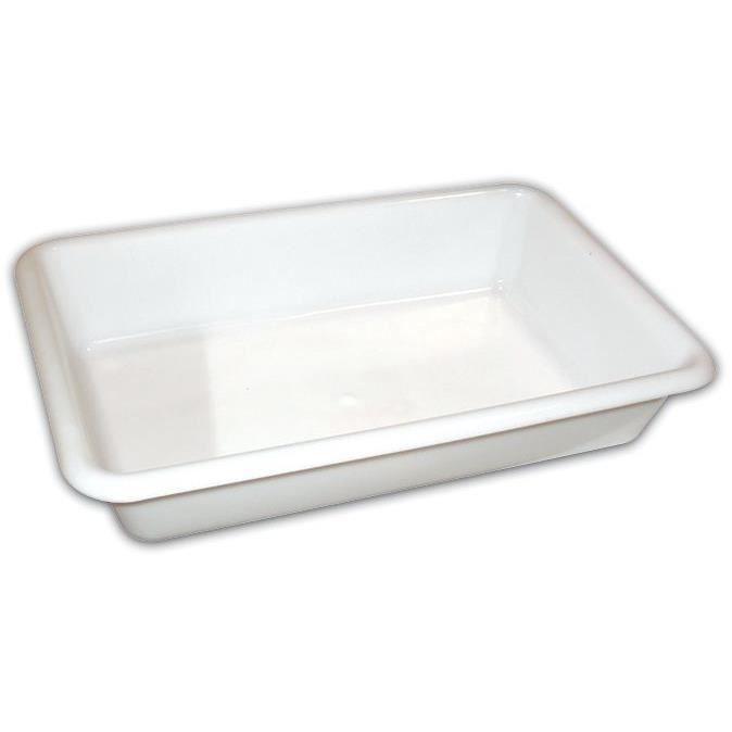 Bac - blanc - 35x23.5x7.3 cm