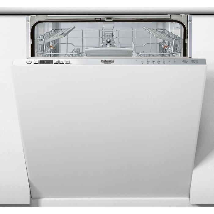 Lave-vaisselle tout intégrable HOTPOINT HI5030W - 14 couverts - Largeur 60 cm - 43 dB