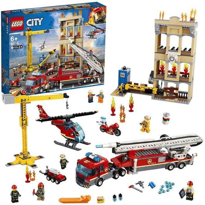 LEGO® City 60216 Les pompiers du centre-ville
