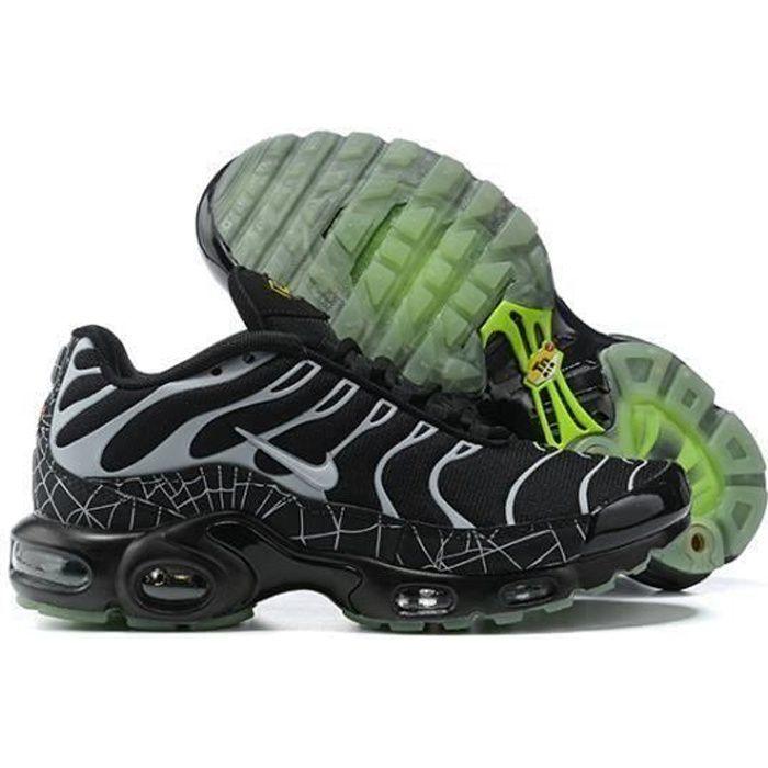 Basket NIKEs AIRs MAX TN Plus TxT Chaussures de Running Homme mixte Noir