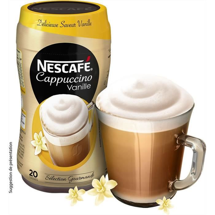 Cafe Moulu - LOT DE 2 - NESCAFE Préparation pour Cappuccino Vanille 310 g