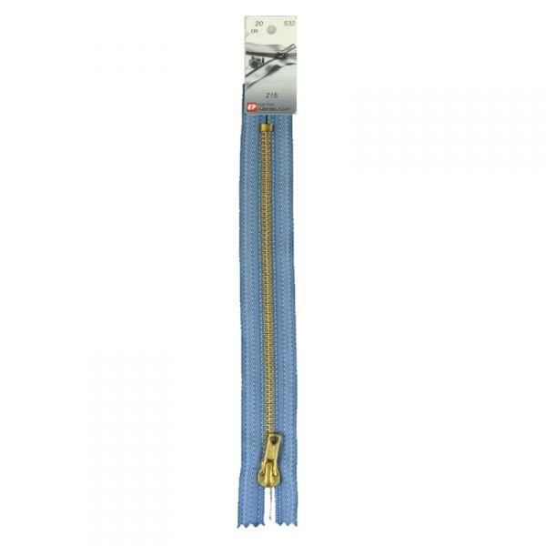 Fermeture Eclair non séparable spécial jean's (Z15) - 20 cm 532 Jean's délavé