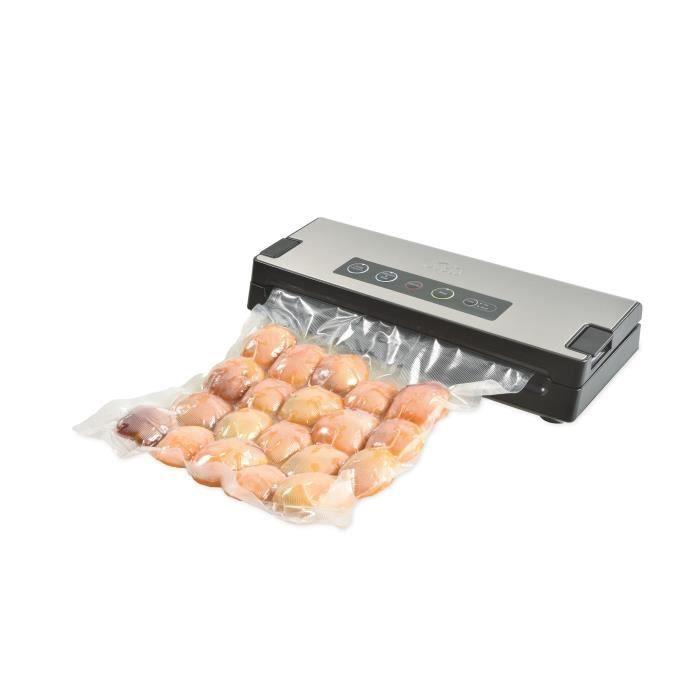 Machine Sous Vide Alimentaire - Pour la Conservation de Tous Types d'Aliments - Gris - Vac Premium 574 Solis