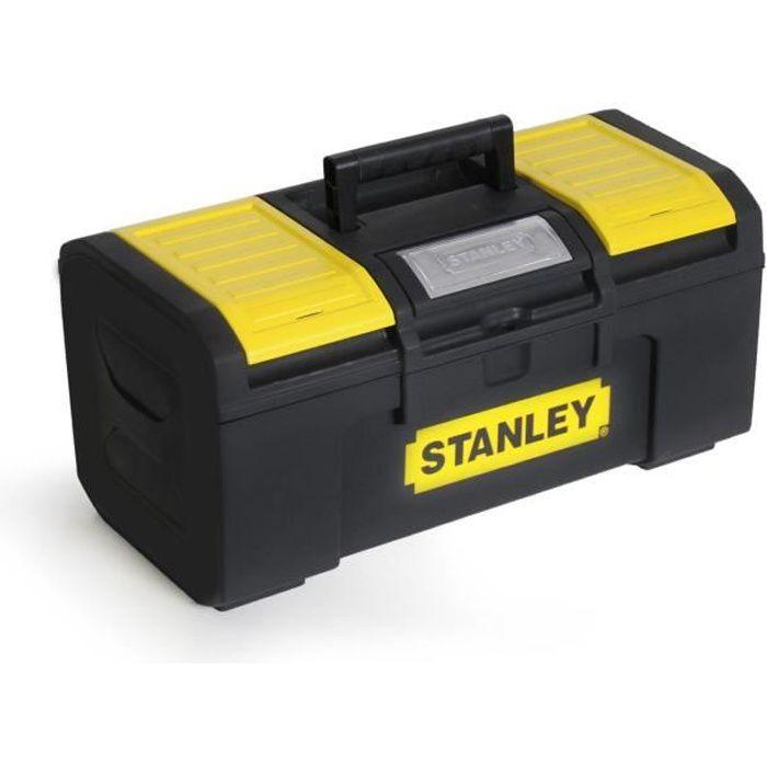 STANLEY Boite à outils vide 40cm à ouverture 1 main