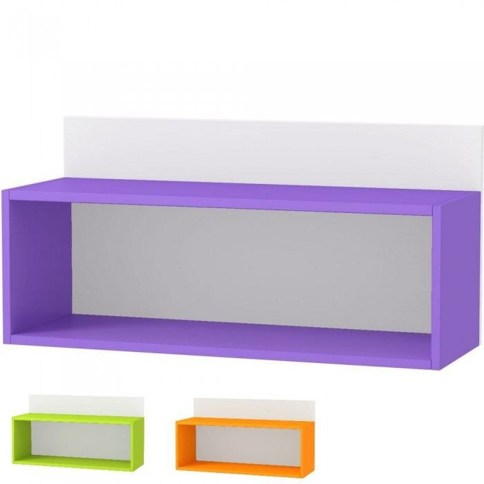 Etag re murale design estival couleur orange ma achat vente etag re murale etag re murale Etagere murale design
