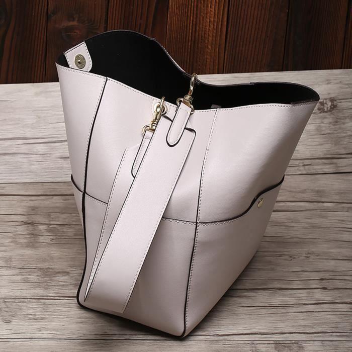 SAC À MAIN sacs à main en cuir véritable sac seau sacs en cui