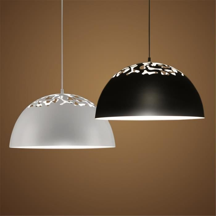Ferandhome r tro lampe lustre suspension led eclairage for Suspension led cuisine design