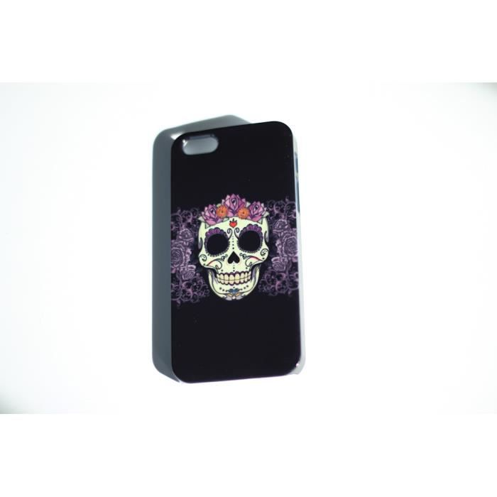 buy cheap iphones coque iphone 5c tete de mort mauve achat coque 2133