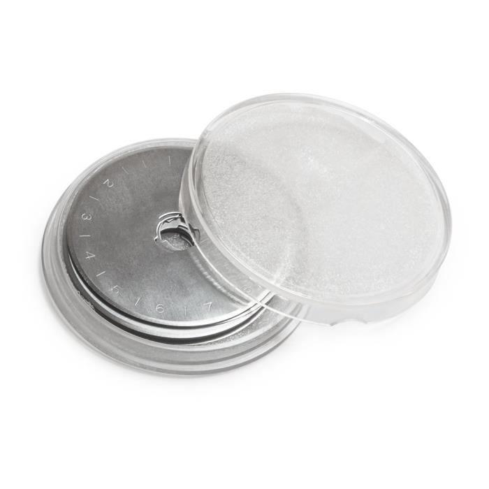 acier 10x Patchwork-cutter lames rondes 45mm