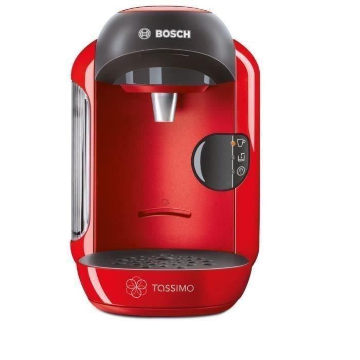 MACHINE À CAFÉ BOSCH TASSIMO Vivy TAS1253 - Rouge