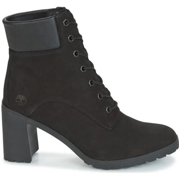 bottes femme timberland noir