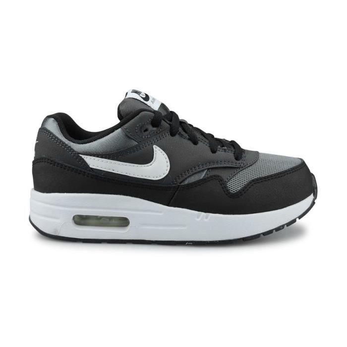 Nike Air Max 1 Enfant Noir T28 Noir - Cdiscount Chaussures