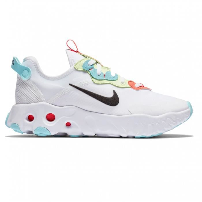Basket mode Nike React Art3mis Blanc Blanc - Cdiscount Chaussures