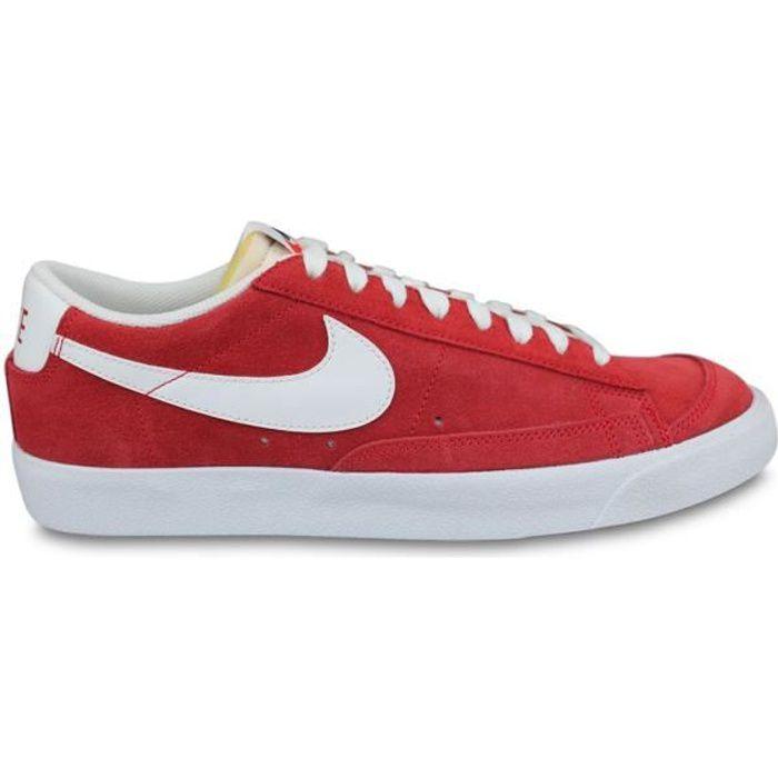 Basket Nike Blazer Low'77 Suede Rouge Da7254-600