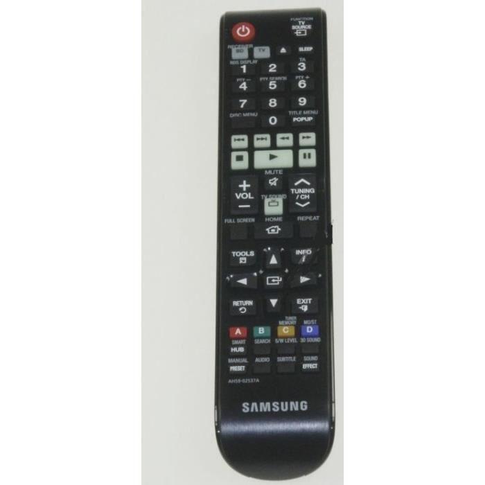 TÉLÉCOMMANDE TV TELECOMMANDE POUR HOME CINEMA SAMSUNG * AH59-02537