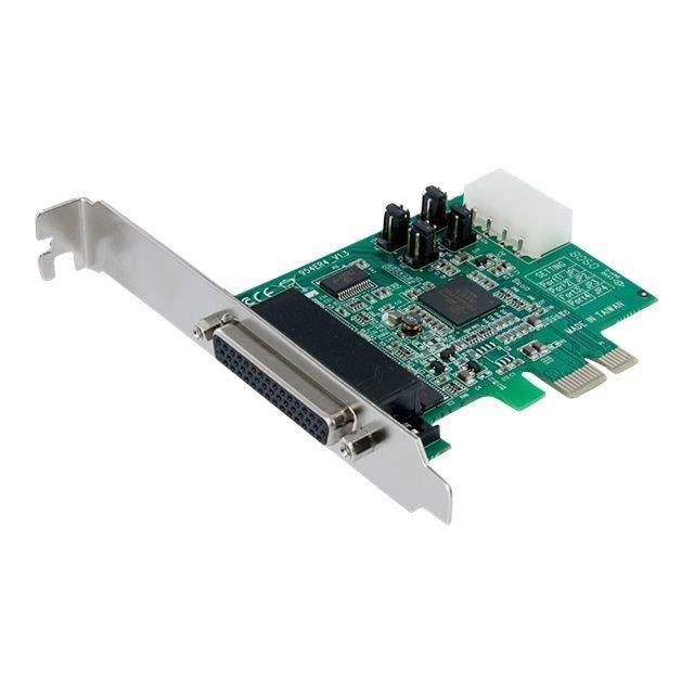 UART 16550 Adaptateur s/érie Carte PCI /à faible encombrement avec 2 ports RS232