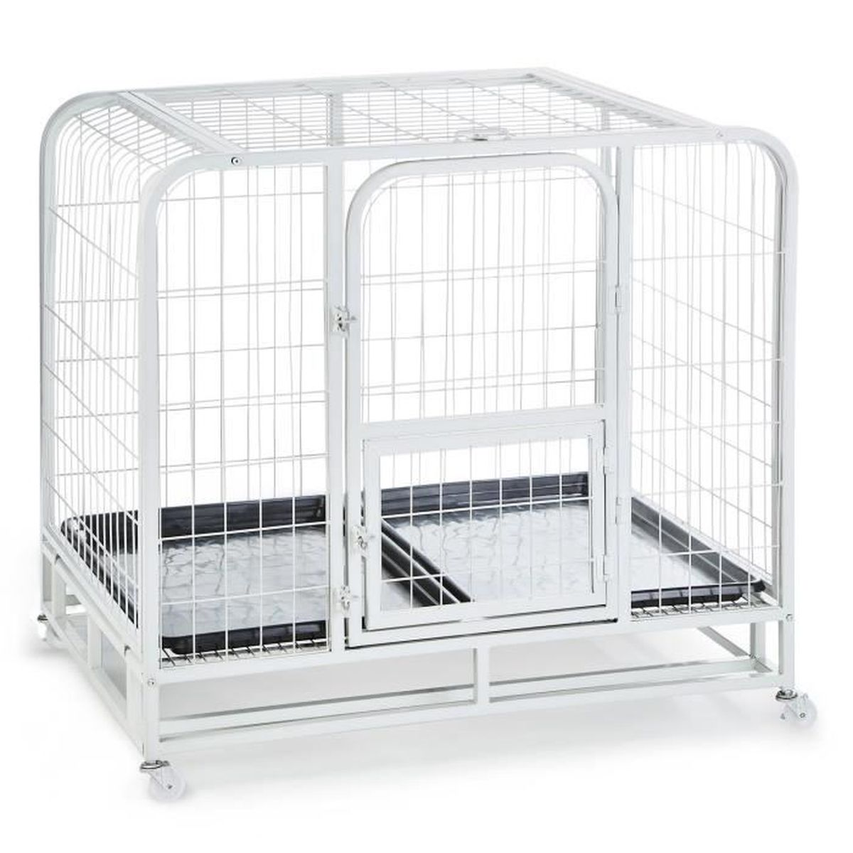 oneconcept cage de transport grillag e pour animaux. Black Bedroom Furniture Sets. Home Design Ideas