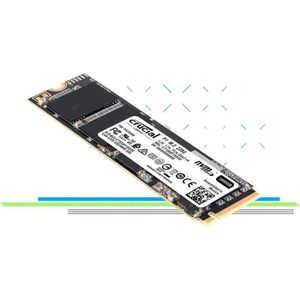 DISQUE DUR SSD CRUCIAL - SSD Interne - P1 - 1To - M.2 (CT1000P1SS