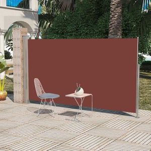 STORE - STORE BANNE  Auvent latéral rétractable 180 x 300 cm Marron