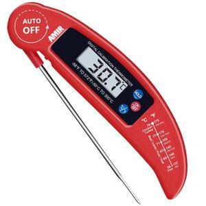 Thermom/ètre alimentaire H-9283-50 /° C Thermom/ètre num/érique /étanche commercial