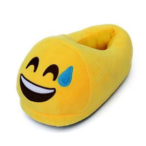 CHAUSSON - PANTOUFLE #12 une paire de chaussons pantoufles chaussures a