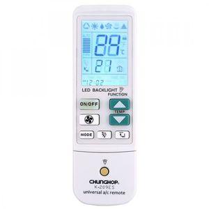 CLIMATISEUR FIXE Télécommande universel pour climatiseur, fonction