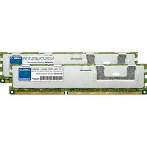 MÉMOIRE RAM 32Go (2 x 16Go) DDR3 1333MHz PC3-10600 240-PIN ECC