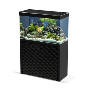 AQUARIUM Aquarium Emotions Nature One 100 Noir Avec Meuble
