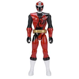 FIGURINE - PERSONNAGE POWER RANGERS - Figurine 30cm Ninja Steel Rouge