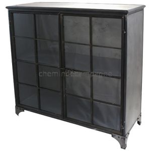 bahut industrielle achat vente bahut industrielle pas. Black Bedroom Furniture Sets. Home Design Ideas